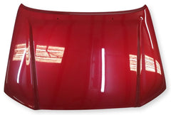 2013 Toyota Tacoma Hood Painted Barcelona Red Mica Painted (3R3)