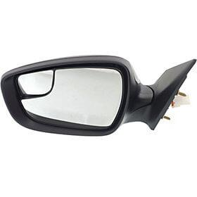 2014-2016 Hyundai Elantra Driver Side Door Mirror (Sedan; US Built; Heated; Power; w/ o Turn Signal) HY1320202