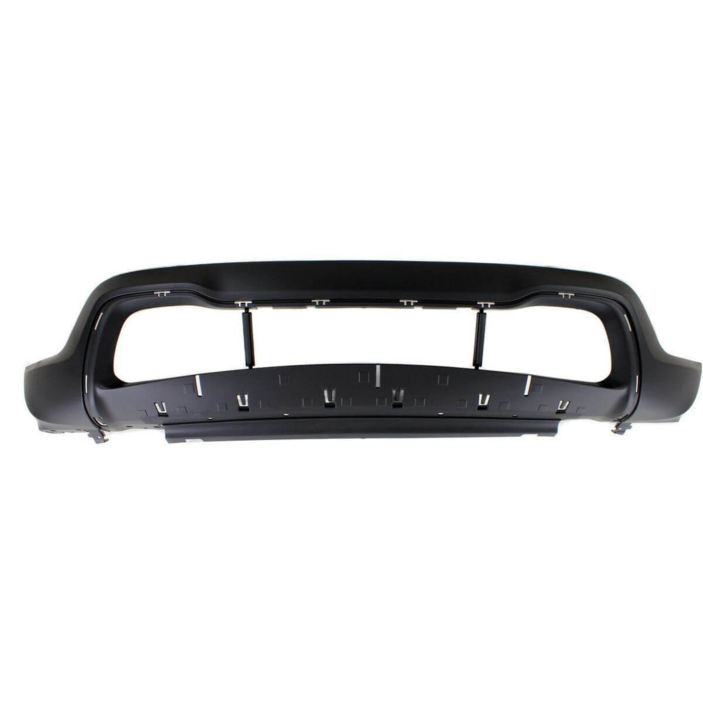 2014-2016 Jeep Grand Cherokee Front Bumper (Limited/Overland/Laredo; Upper; w/o Park Assist Senor Holes) - CH1014105