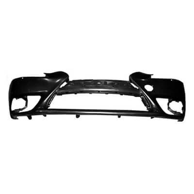 2014-2016 Lexus IS250 Front Bumper; Sedan-  F-Sport Package; Except C; w_o HL Washer Holes; LX1000261; 521195E909