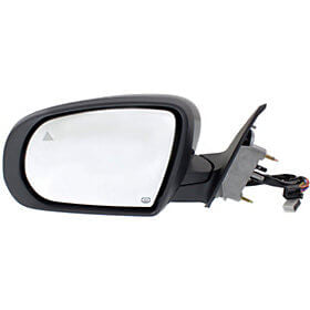 2014-2018 Jeep Cherokee Driver Side View Mirror (Heated; w_o Mem; w Signal; w Puddle; w BSD; MAN Fold; Left) - CH1320428