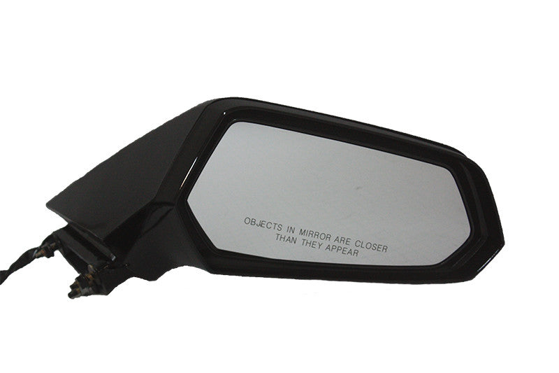 2010-2015 Chevrolet Camaro Driver Side Power Door Mirror Power, Manual Folding, Non-Heated, wo Auto Dimming Glass_GM1320405