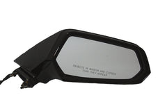 2010 Chevrolet Camaro Side View Mirror Painted Black (WA8555), Non-Heated, Without Auto Dimming - front view