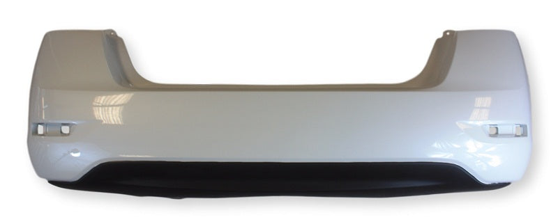 2014 Nissan Sentra Rear Bumper,  SR Model, Painted Ash Metallic (K36)