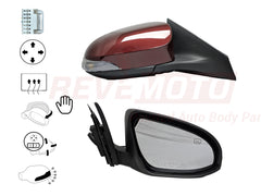 2017_Toyota_Avalon_Passenger_Side_View_Mirror_Power_Manual_Folding_Heated_w_Memory_Signal_Light_wo_BSD_Painted_Ooh_La_La_Rouge_Mica_3T0_8790107011