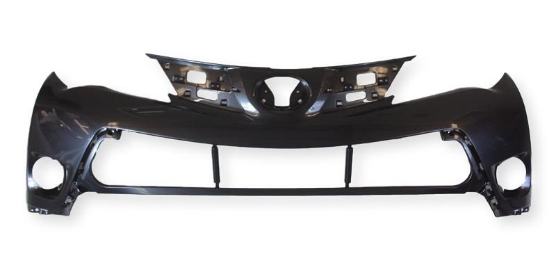 2015 Toyota RAV4 _ Front Bumper Cover, Upper, USA Japan, Painted  Barcelona Red Mica (3R3)_ 521190R911.jpgS