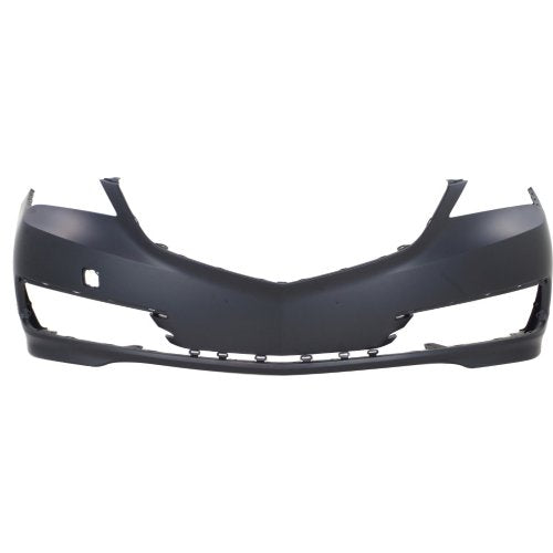 2015 Acura TLX Front Bumper Cover (W-out Park Assist Sensor Holes; W/out Head Light Washer Holes; w/o Advance Pkg)