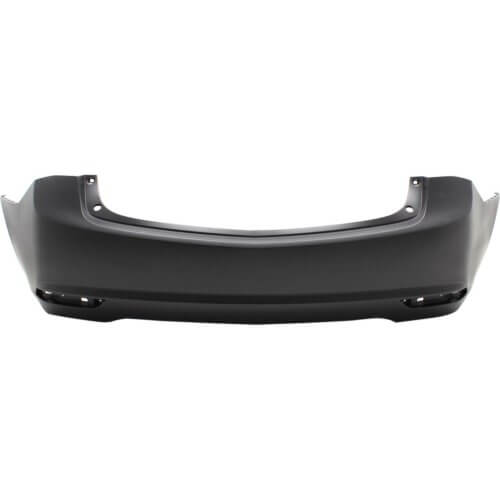 2017 Acura TLX Rear Bumper Cover (W-o Park Assist Sensor Holes; Except Advance Package)