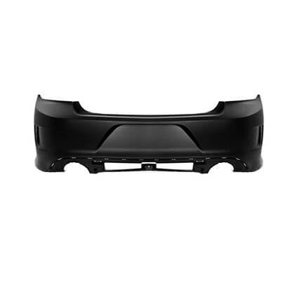2015-2018 Dodge Charger Rear Bumper (Except SRT/RT SCAT PACK Models: w/o Park Assist Sensor Holes) - CH1100A07
