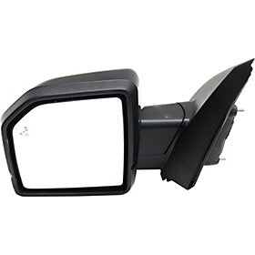 NEW OEM PASSENGER RIGHT POWER FOLD BLIND SPOT SIGNAL PUDDLE OXFORD WHITE F150