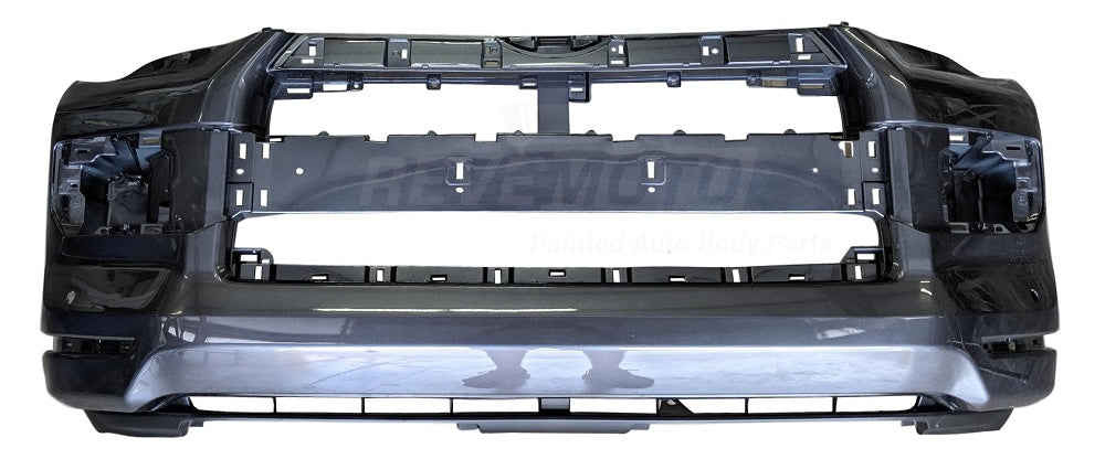 2014 Toyota 4Runner Front Bumper Cover Painted Attitude Black Metallic (218)_SR5 Models, Without Holes for Chrome Trim and Valance Panel, w_o Trail Package - 5211935912