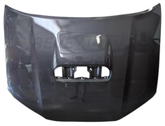 Toyota 4Runner Hood Painted Magnetic Gray Metallic_With Scoop