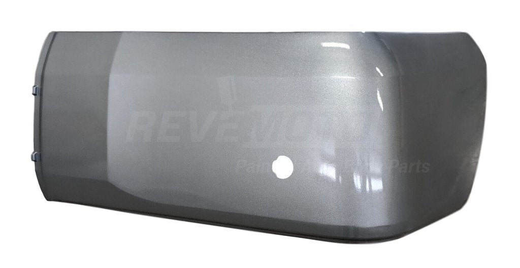 2014-2018 Toyota Tundra Rear Bumper (Driver Side); 4WD/RWD; w/o Park Assist Sensor Holes; Cover Extension; Resin/Plas Bumper; TO1116108; 521560C030