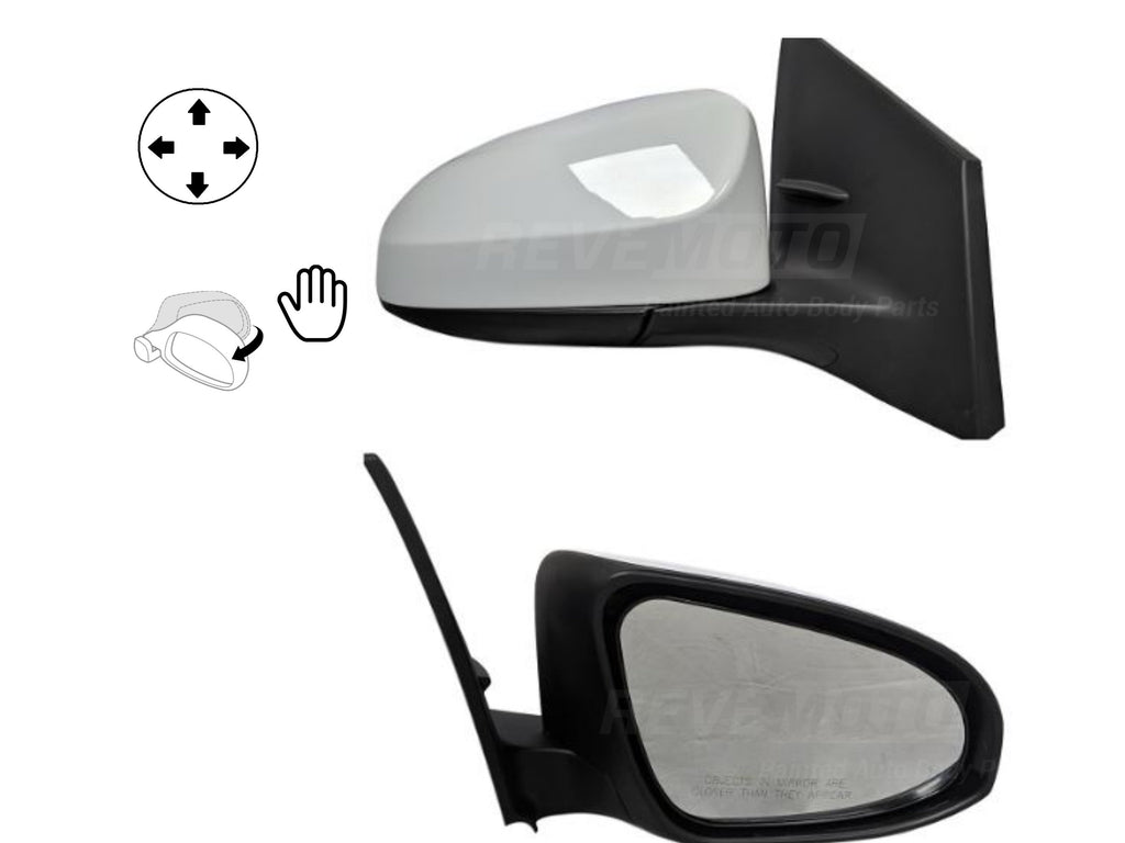 2014-2019 Toyota Corolla Mirror Driver Side Sedan Power Non-Heated Manual Folding w o Signal Light TO1320293 8794002F20C0 45b20f6f-f6c3-413b-9232-e285fbe36851.jpg?v=1586155680