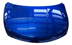 2010 Nissan Versa Hood Painted Metallic Blue Line (B17)