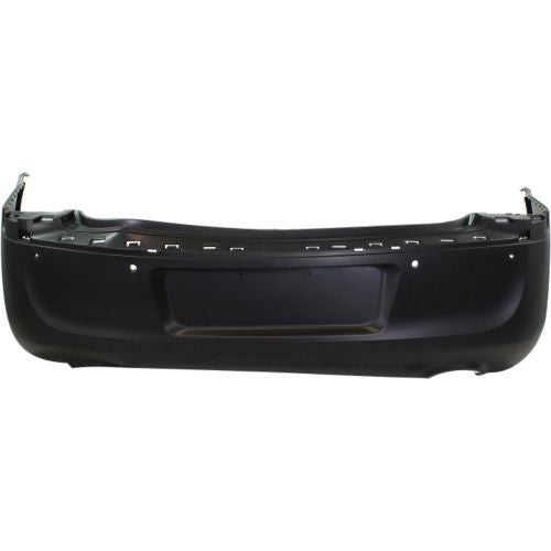 Chrysler 11-14 300 Rear Bumper; Except SRT-8 Models; w/o Park Assist Sensor Holes; w/ Dual Exhaust Holes; 68127950AC