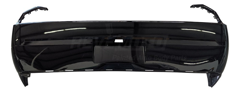 2008-2014 Dodge Challenger Rear Bumper (w_o Park Assist Sensor Holes) - CH1100934