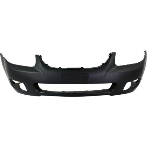 2007 Kia Spectra Front Bumper Painted Spicy Red Met (IY)
