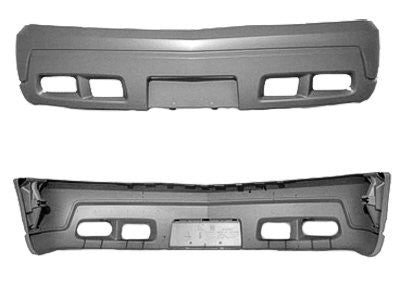 2003 Cadillac Escalade Front Bumper Painted White Diamond Pearl (WA800J)