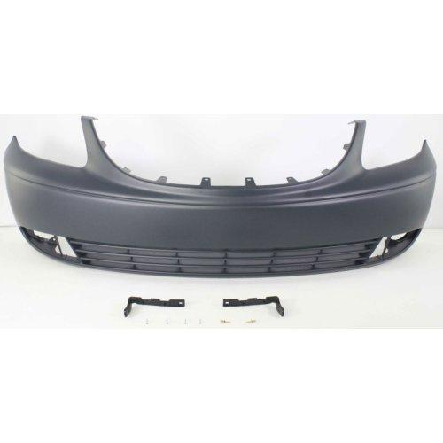 Chrysler 01-04 Town & Country Front Bumper; ES/LXI/Limited Models; w/ Fog Lamp Holes; w/o Built-in Grille Surround
