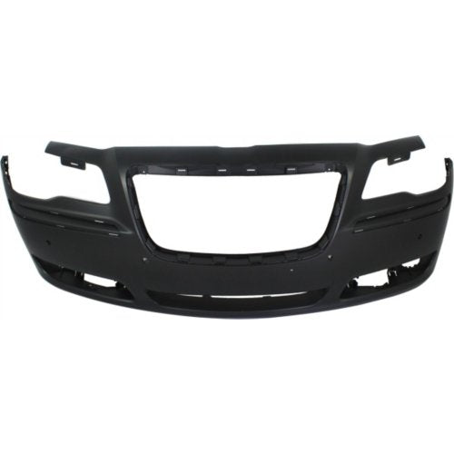 Chrysler 11-14 300 Front Bumper; Except SRT-8 Models; w/o Park Assist Sensor Holes; w/ ACC; 68127938AE