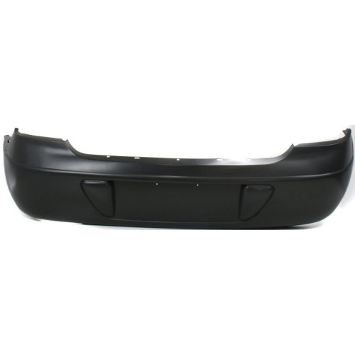 Chrysler 99-04 300M Rear Bumper Base Model; w/o Special; Narrow License Pocket w/ One Center Lamp Hole; 4574893