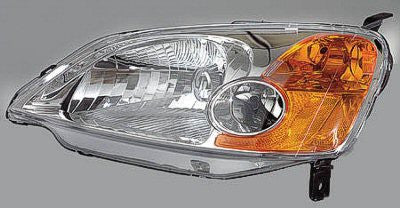 2001-2003 Honda Civic : Headlight : Driver Side : Sedan