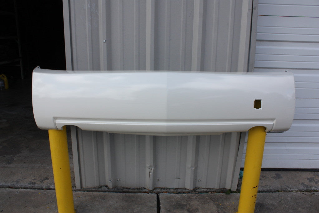 2003-2007 Cadillac CTS Rear Bumper; Single Exhaust ; 2.8L;  3.6L; 3.2L; GM1100653; 12335546;