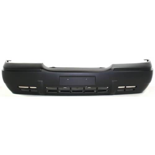 Mercury Grand Marquis Front Bumper 98-02; w_ Built in Splash Shield; FO1000423; XW3Z17D957BA