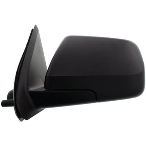 Mercury Mariner Mirror (Driver Side) 08-09; Fits Hybrid Models; Power; Non-Heated; Manual Folding; Paint to Match; FO1320292; 9L8Z17683BAMER