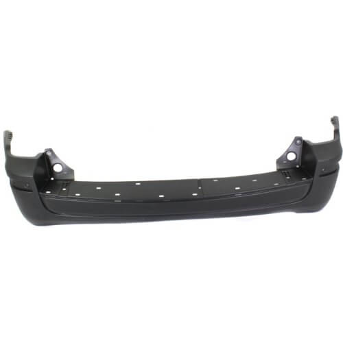 Mercury Mariner Rear Bumper 08-11; Fits Hybrid Models; w_o Hitch & Sensor; (May Drill Holes for Park Assist Sensor if needed); Thermoplastic; FO1100628; 8E6Z17K835APTM