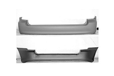 2004 Kia Sedona Rear Bumper Painted