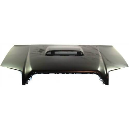 2008 Toyota 4Runner Hood, Sport Model with Scoop Painted Black (202)