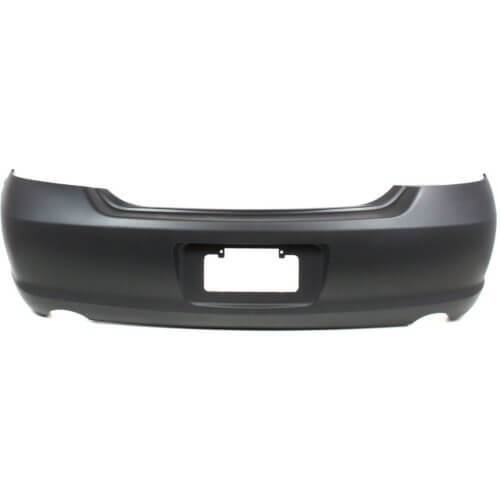 2009 Toyota Avalon Rear Bumper Painted Black (202)