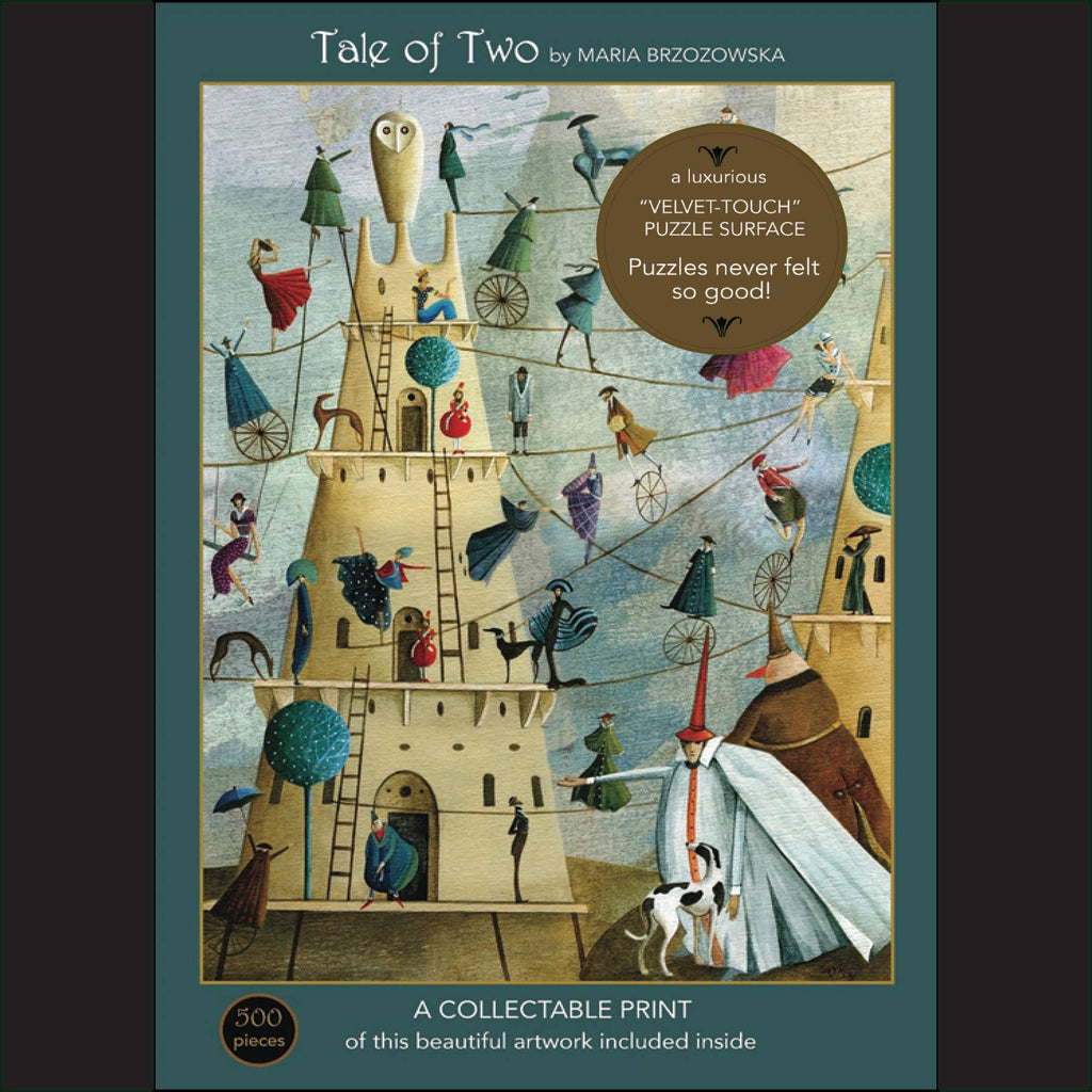 "Tale of Two; 500-Piece ""Velvet-Touch"" Jigsaw Puzzle"