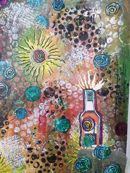 Mixed Media Explorations - Creating your Art Journal Page