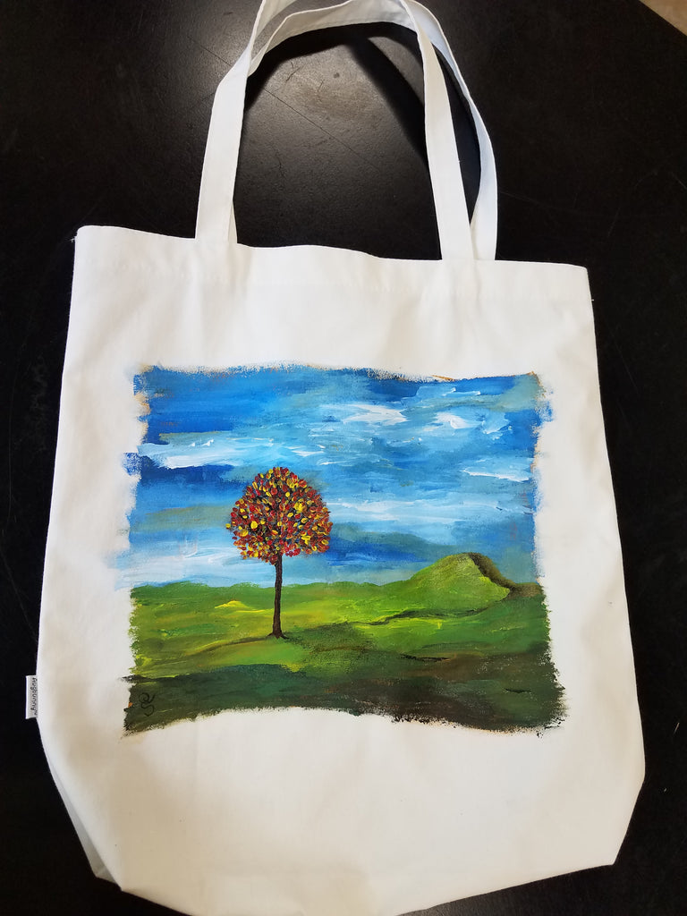 Hand Painted Totes January Special!