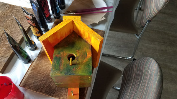 For the Birds! Birdhouse Painting Project