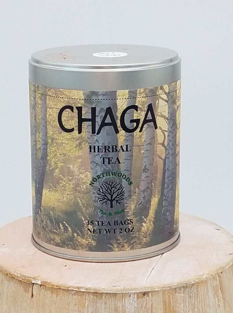 Chaga Herbal Tea Tin