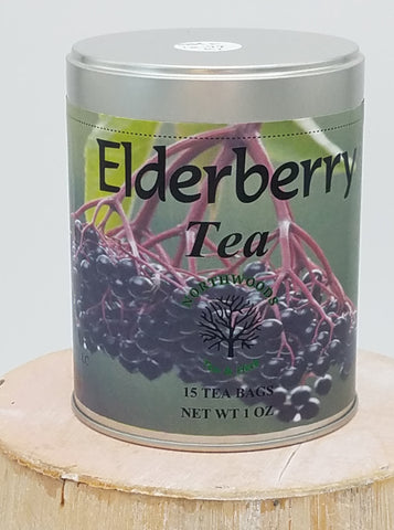 Elderberry Herbal Tea Tin