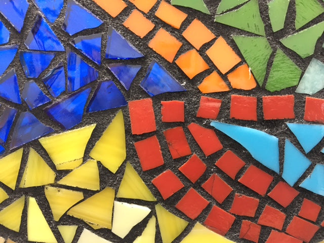Colorful Grounds Walk In Wednesday: Stained Glass Mosaics for Beginners