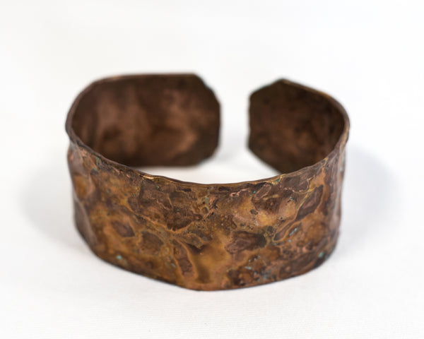 Pounded Copper Bracelet
