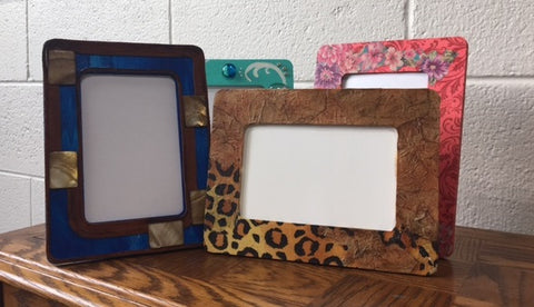 Colorful Grounds Decorated Frames