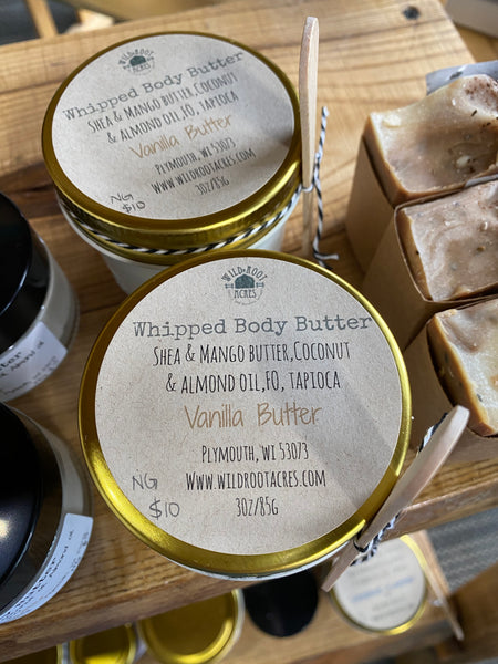 Wild Root Acres Whipped Body Butter