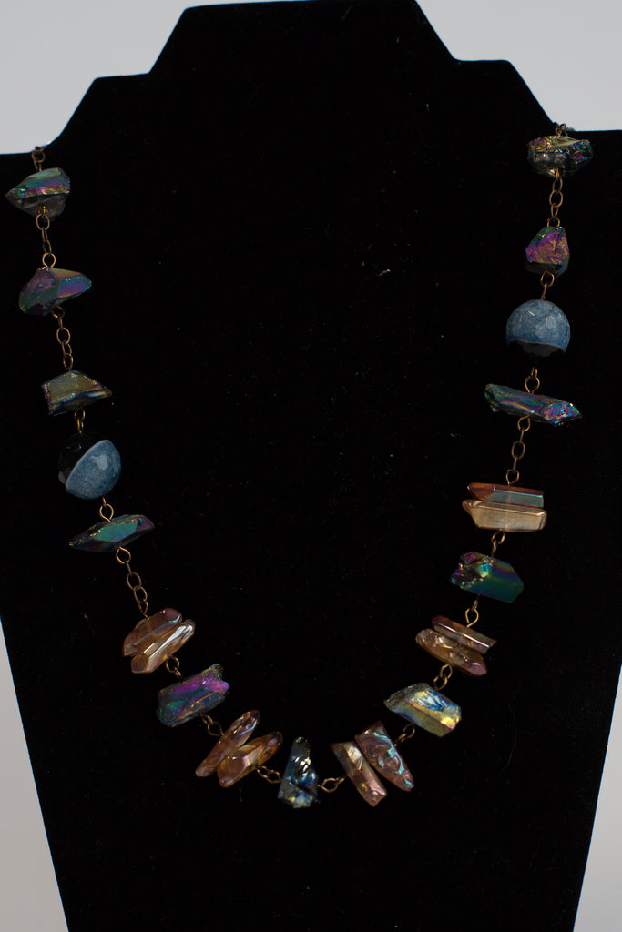 Quartz & Agate Necklace