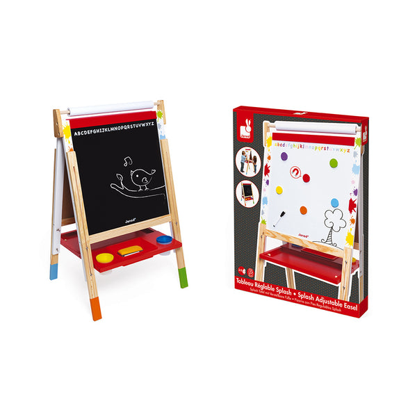 Splash Adjustable Easel by Janod