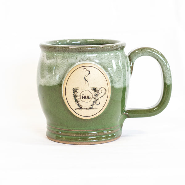 HUB Green Coffee Mug