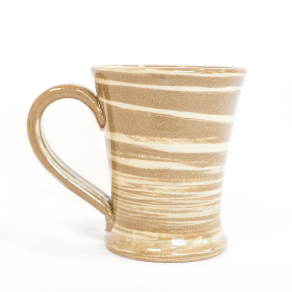HUB Tan Coffee Mug