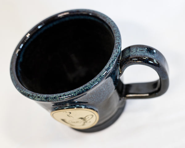 HUB Blue Coffee Mug