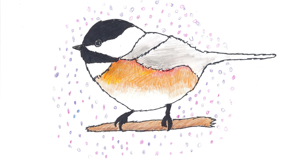 Chickadee Notecard Set of 5
